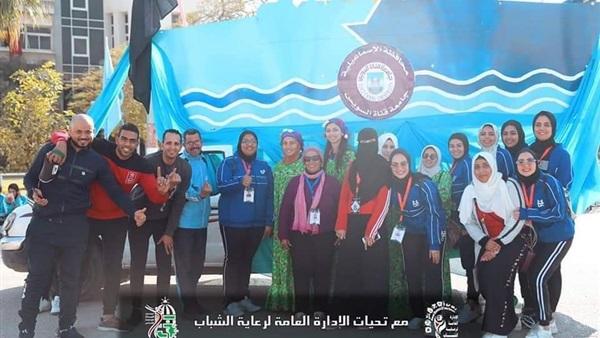 : فوز جامعة القناة بالمركز الأول بكرنفال الجامعات المصرية