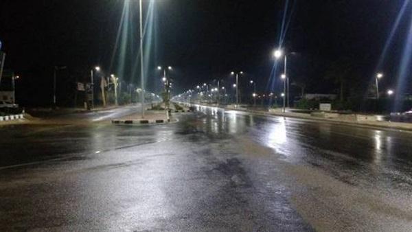 البوابة نيوز: سقوط أمطار خفيفة وانخفاض في درجات الحرارة بالغربية