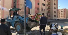 تنفيذ 20 قرار غلق وتشميع وإزالة إشغالات بالحي الثالث في مدينة بدر
