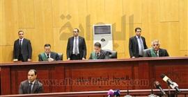 النيابة تتلو أمر إحالة متهمة بأحداث مجلس الوزراء