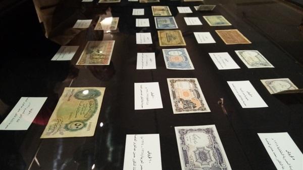 : «إنتي فين يا فلوس».. 2500 سنة رحلة النقود في مصر بمعرض مكتبة الإسكندرية
