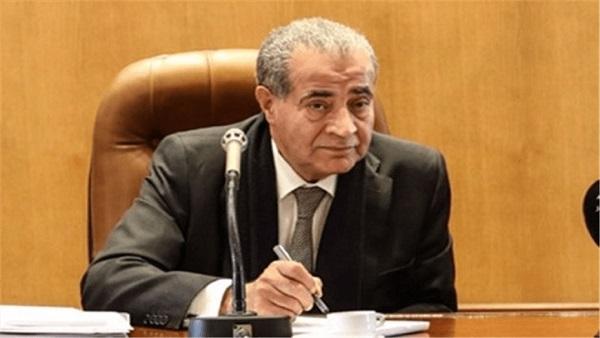 : وزير التموين يكشف عن حجم الاستهلاك الشهري للسلع الأساسية