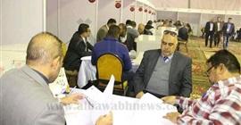 بالصور.. توافد المهندسين للمشاركة في انتخابات التجديد النصفي