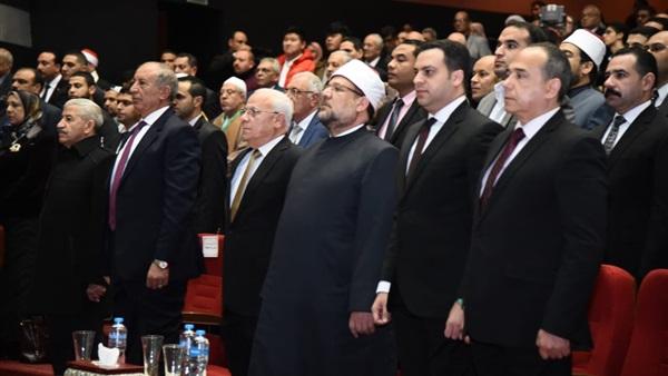 : دقيقة حداد على روح فدائية بورسعيد في افتتاح مسابقة القرآن الكريم الدولية