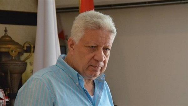 : مرتضى منصور يحفز لاعبي الزمالك في جلسة خاصة قبل مواجهة الاتحاد