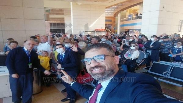 : مطار شرم الشيخ يرسم البسمة على وجوه 160 سائحًا من قيرغيزستان