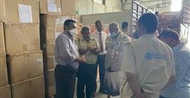الصحة اليمنية ترفد مراكز عزل كورونا بالمحافظات بالمعدات والمستلزمات الطبية