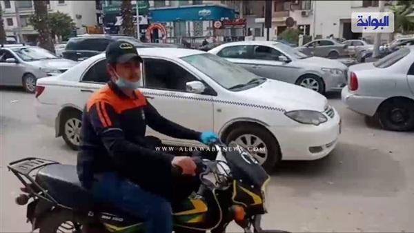 : شاهد.. شلل مروري في محيط شارع الهرم