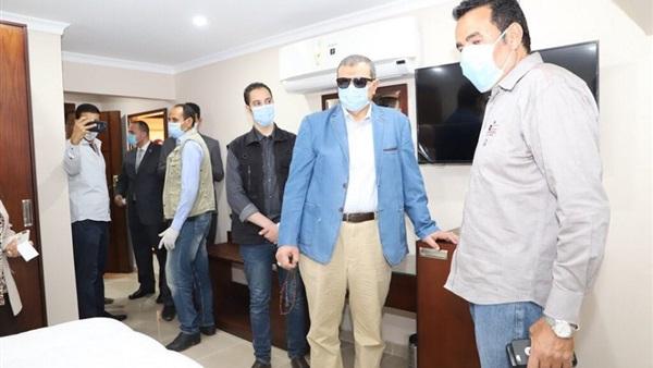 : وزير القوى العاملة يتفقد فندق نقابة الغزل والنسيج