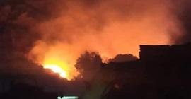 إخماد حريق في منطقة الربوة بدمشق