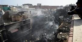 الصحة الباكستانية: 97 قتيلا وناجيان في حادث تحطم طائرة الركاب