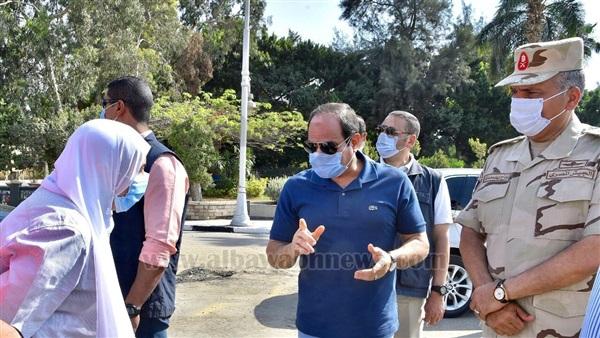 :  السيسي  هاشتاج يتصدر  تويتر  للإشادة بافتتاحات محاور القاهرة