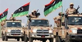 الجيش الليبي يستهدف تجمعا للميليشيات المسلحة بمدينة طرابلس