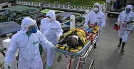 """""""الصحة البرازيلية"""": 1956 وفاة جديدة بكورونا خلال الساعات الـ24 الماضية"""