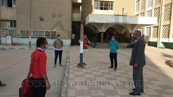 : صور.. بدء توافد طلاب جامعة الأزهر على المدينة الجامعية