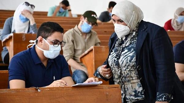 : جامعة قناة السويس: لا حالات غش أو عزل بلجان الامتحانات