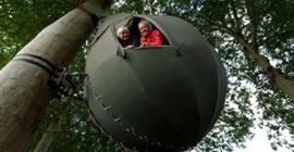خيام الأشجار في بلجيكا للتنزه والهروب من كورونا