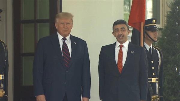 البوابة نيوز مباحثات ثنائية بين ترامب وعبد الله بن زايد بالبيت الأبيض