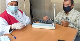 فحص نحو 33 ألف مواطن ضمن مبادرة علاج الأمراض المزمنة ببني سويف