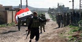 """""""سانا"""": الجيش السوري يقضي على مجموعة إرهابية"""