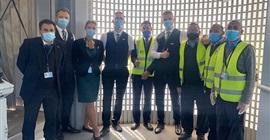 مطار الغردقة الدولي يستقبل أولى رحلات شركة الطيران اللتوانية