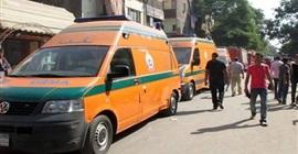 إصابة أمين شرطة و3 خفراء في اصطدام سيارة بشجرة في الفيوم