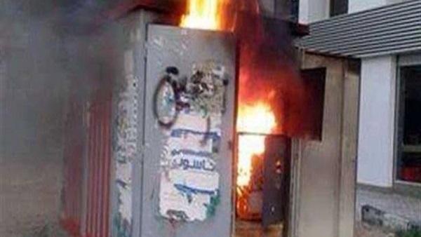 إخماد حريق بكابينة كهرباء وعقار بوسط البلد دون إصابات