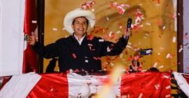 اليساري كاستيليو يقترب من الفوز في الانتخابات الرئاسية في بيرو
