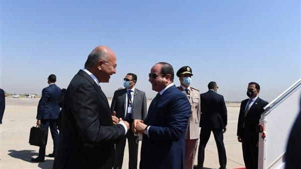 بالأسماء.. الوفد المرافق للسيسي خلال زيارة العراق