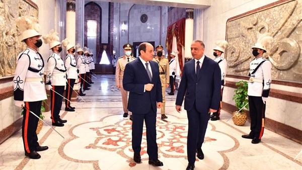 """""""مكافحة الإرهاب"""" تتصدر القمة المصرية العراقية الأردنية"""