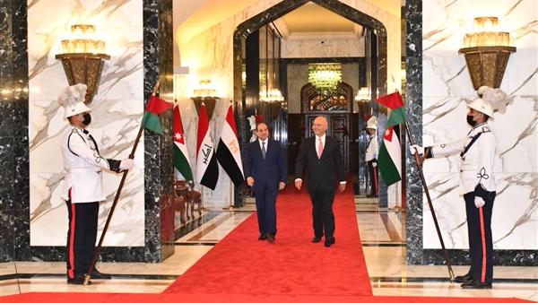 السيسي يصل القاهرة عقب المشاركة في القمة الثلاثية ببغداد