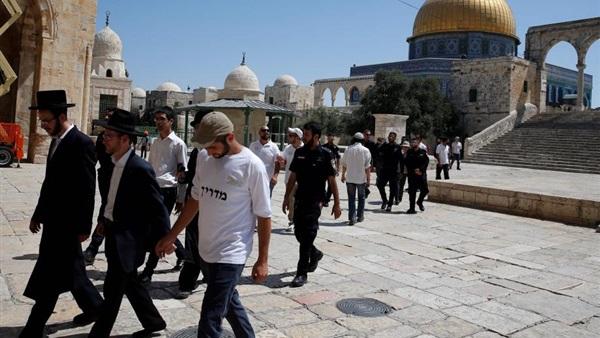 84 مستوطنا يقتحمون باحات المسجد الأقصى المبارك