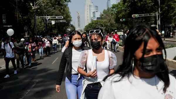 المكسيك.. 62 وفاة و3779 إصابة جديدة بفيروس كورونا